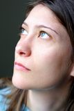 nätt brunett Royaltyfri Foto