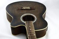 Nätt elektrisk gitarr väl Arkivfoto