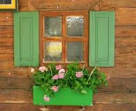 nätt fönster Arkivbilder
