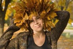 nätt flickastående Fotografering för Bildbyråer