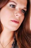 nätt framsidaflickor Royaltyfri Fotografi