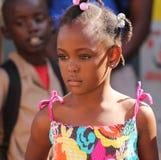 Nätt jamaikansk flicka Arkivbild