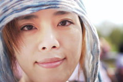nätt kinesisk flicka Royaltyfria Bilder