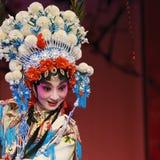 nätt kinesisk opera för aktris Arkivfoton