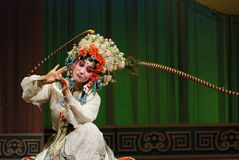 nätt kinesisk opera för aktris Royaltyfria Foton