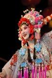 nätt kinesisk opera för aktris Royaltyfri Foto