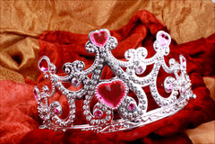nätt krona royaltyfria foton