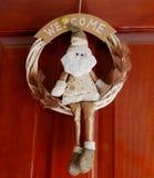 Nätt krona av Santa Claus arkivfoto