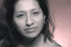nätt kvinna arkivfoto