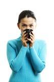 nätt kvinna fotografering för bildbyråer