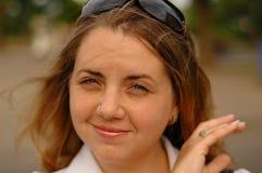 nätt kvinna Royaltyfri Fotografi
