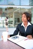 nätt kvinna för afrikansk amerikan Fotografering för Bildbyråer
