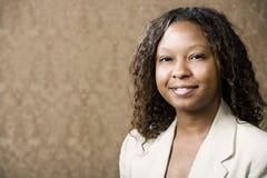 nätt kvinna för afrikansk amerikan royaltyfri foto
