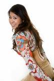 nätt kvinna för mode Royaltyfria Foton