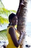 nätt kvinna för nicaraguanstående Arkivbild