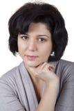nätt kvinna för portrate arkivfoton