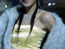 nätt kvinna för smycken Arkivfoton
