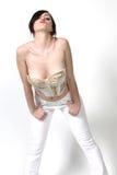 nätt kvinna för stående Royaltyfri Foto