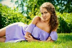 Nätt kvinnlig Royaltyfria Bilder