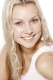 nätt leende för härlig flicka Arkivfoto