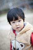 Nätt lite kinesisk flicka Royaltyfri Bild