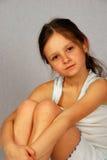 Nätt liten flicka Arkivfoto
