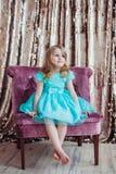 Nätt liten flicka Fotografering för Bildbyråer