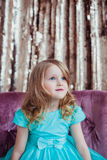 Nätt liten flicka Arkivfoton