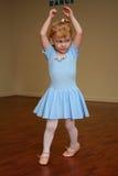 nätt litet barn för 5 ballerina Royaltyfri Fotografi