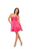 nätt red för klänning Royaltyfria Foton