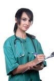 nätt sjuksköterska Royaltyfri Fotografi