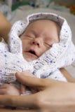 Nätt sova som är nyfött Royaltyfri Fotografi