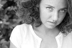 nätt teen för flicka Fotografering för Bildbyråer