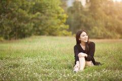 nätt thai för flicka Fotografering för Bildbyråer