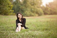 nätt thai för flicka Arkivfoto