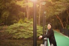 nätt thai för flicka Royaltyfria Foton