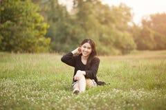 nätt thai för flicka Royaltyfria Bilder