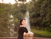 nätt thai för flicka Royaltyfri Bild