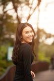 nätt thai för flicka Arkivbilder
