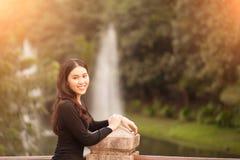 nätt thai för flicka Arkivfoton