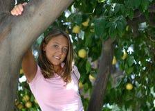 nätt tonårs- för flicka Royaltyfri Foto