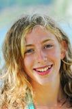nätt tonårs- för flicka Fotografering för Bildbyråer