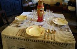 Nätt traditionell tabell Royaltyfri Bild