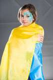 Nätt ukrainskt tonårigt Royaltyfri Foto