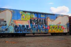 Nätta grafitti Royaltyfria Foton