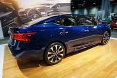 Nätta Nissan Maxima Performance Sedan Royaltyfria Foton