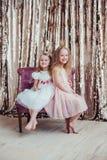 Nätta små flickor Royaltyfri Foto