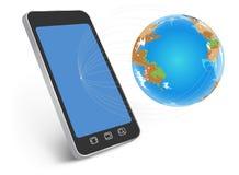 Nätverk över hela världen Arkivfoton