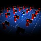 nätverk 07 Arkivbild