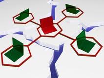 Nätverk 向量例证